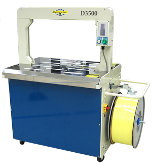 D3500 Ultra Fast Plastic Strapping - Banding Machine