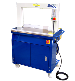 AM650 High Speed Economical Automatic Box Strapper Strapping Machine