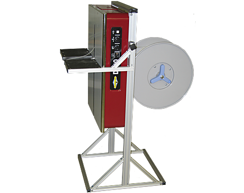 DF30V-Semi Automatic Vertical Box Strapping Machine  | Dynaric, Inc.